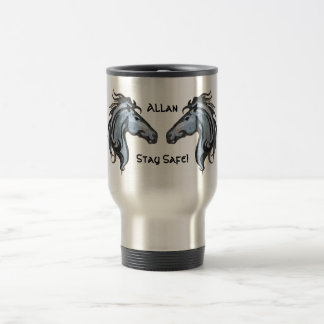 Dramatic Horses Travel / Cummuter Mug