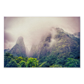 Dramatic Iao Valley | Poster