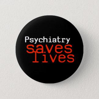 Dramatic Pro-Psychiatry Button (Round)