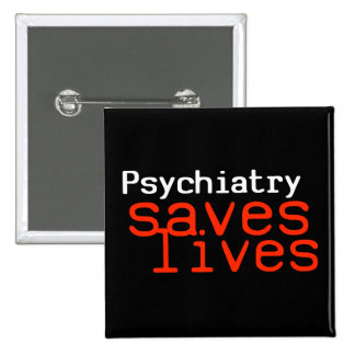 Dramatic Pro-Psychiatry Button (Square)