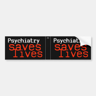Dramatic Pro-Psychiatry Decal (2 in 1)