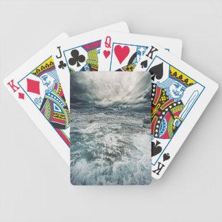 Dramatic Seas Bicycle Playing Cards
