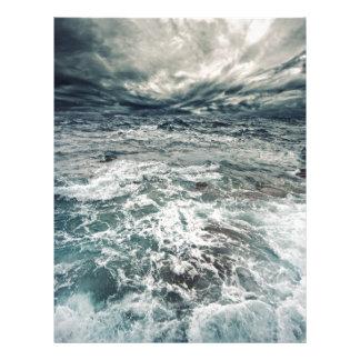 Dramatic Seas Letterhead