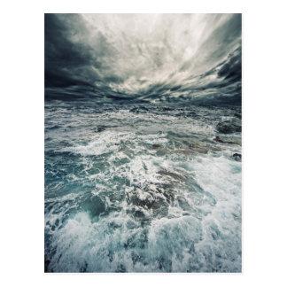 Dramatic Seas Postcard
