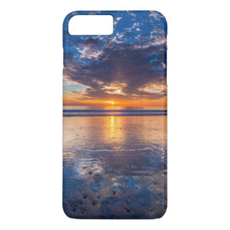 Dramatic seascape, sunset, CA iPhone 7 Plus Case