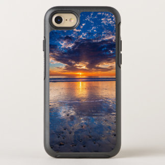 Dramatic seascape, sunset, CA OtterBox Symmetry iPhone 8/7 Case
