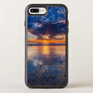 Dramatic seascape, sunset, CA OtterBox Symmetry iPhone 8 Plus/7 Plus Case