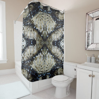 Dramatic Shower Curtain
