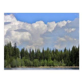 Dramatic Skys Marshall Lake Postcard
