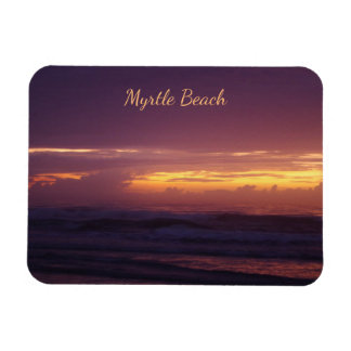 Dramatic Sunrise in Myrtle Beach Magnet