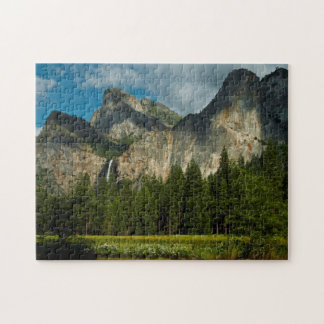 Dramatic View Of Yosemite Valley From The Gates Jigsaw Puzzle