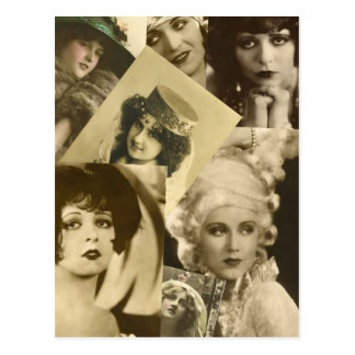 Dramatic Women From the Past Postcard