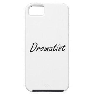 Dramatist Artistic Job Design iPhone 5 Case