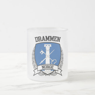 Drammen Frosted Glass Coffee Mug