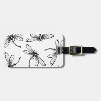 Drangonflies Luggage Tag