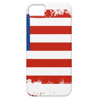 Drapeau américain affligé coque barely there iPhone 5