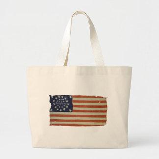Drapeau américain avec 34 étoiles sac de toile