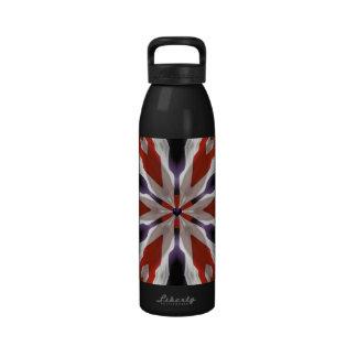 Drapeau américain bouteille d'eau réutilisable