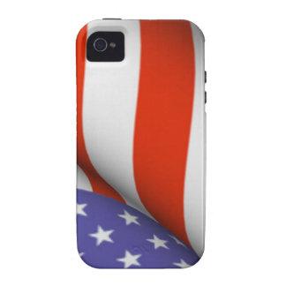 Drapeau américain coque iPhone 4 vibe