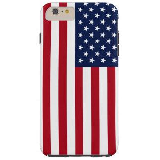 Drapeau américain coque iPhone 6 plus tough
