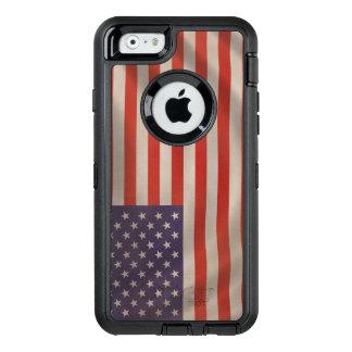 Drapeau américain coque OtterBox iPhone 6/6s