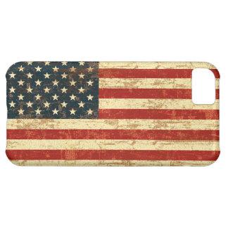 Drapeau américain sale coque iPhone 5C
