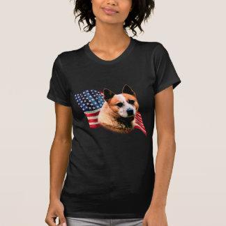 Drapeau australien de chien de bétail t-shirt