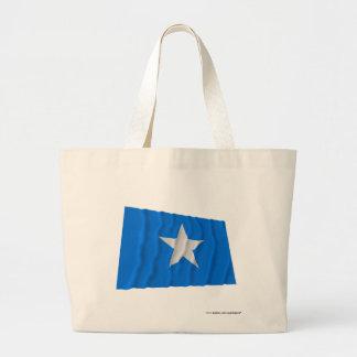 Drapeau bleu mignon/à l'ouest drapeau de Républiqu Sac De Toile