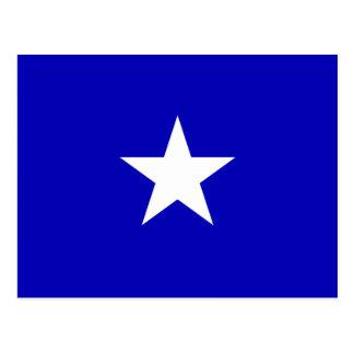Drapeau bleu mignon cartes postales