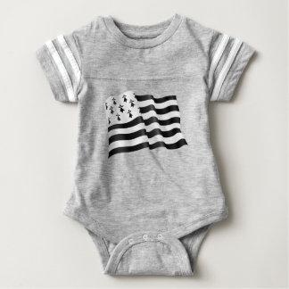 Drapeau breton (Breton flag) Baby Bodysuit