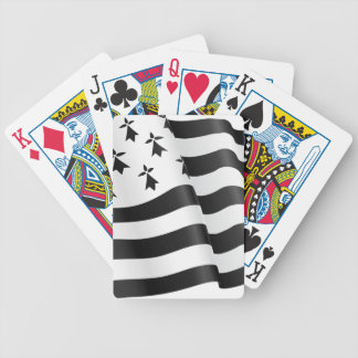 Drapeau breton (Breton flag) Bicycle Playing Cards