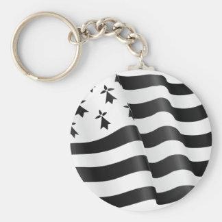 Drapeau breton (Breton flag) Keychain