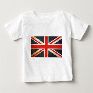 Drapeau britannique des syndicats t-shirt pour bébé