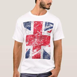 Drapeau britannique/drapeau d'Union Jack/drapeau T-shirt