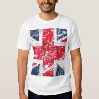 Drapeau britannique/drapeau d'Union Jack/drapeau T-shirts