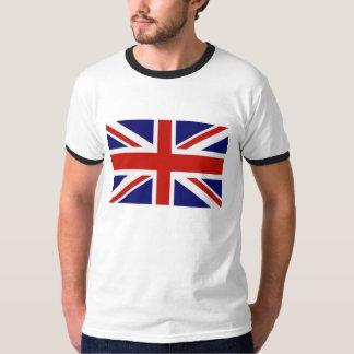Drapeau britannique tshirts