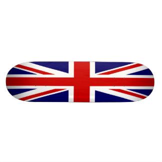 Drapeau britannique Union Jack Plateau De Skate