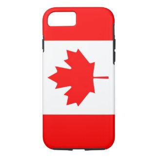 Drapeau canadien de l'iPhone 7 de feuille d'érable Coque iPhone 7