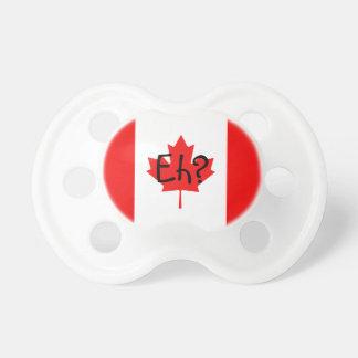 Drapeau canadien hein ? tétines pour bébé