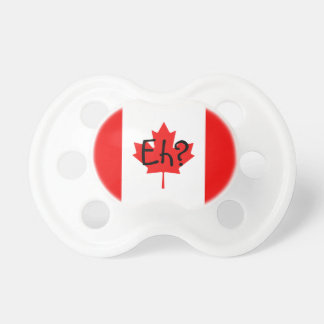 Drapeau canadien hein tétines pour bébé