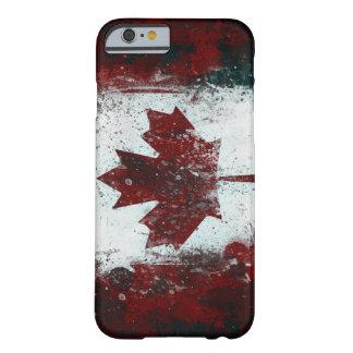 Drapeau canadien peint coque iPhone 6 slim