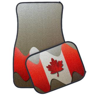 Drapeau-Chrome du Canada Tapis De Sol