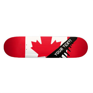 Drapeau classique du Canada Planche À Roulette Customisée