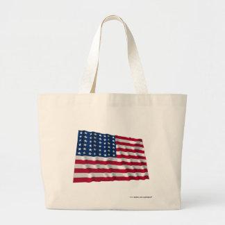 drapeau de 48 étoiles sac de toile