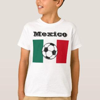 Drapeau de ballon de football du Mexique | T-shirt