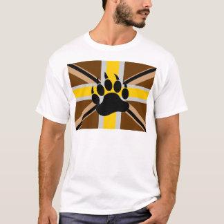 Drapeau de fierté d'ours des Anglais T-shirt