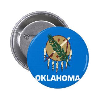 Drapeau de l Oklahoma Badges Avec Agrafe