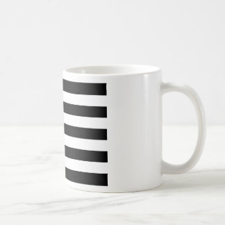 Drapeau de la Bretagne Breizh Gwenn ha Du Britanny Coffee Mug