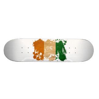 Drapeau de la Côte d'Ivoire Plateaux De Skateboards Customisés