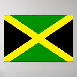 Drapeau de la Jamaïque Poster